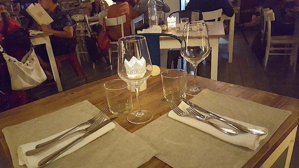 mise en place, Pizzeria Gazometro 38, Pier Daniele Seu, Roma