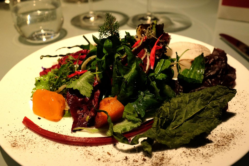 salad, The Gelinaz Shuffle #2, sfida con incognita, Camanini, Zaye Hasegawa, lido 84