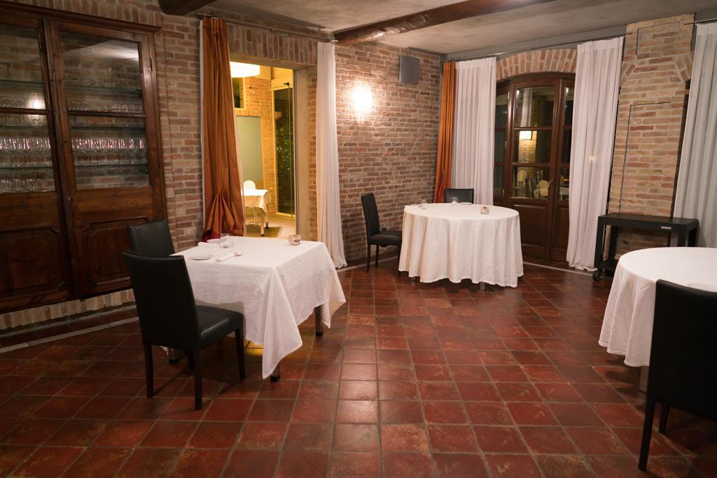 sala, La Madernassa, Chef Michelangelo Mammoliti, Guarente, Cuneo, Piemonte