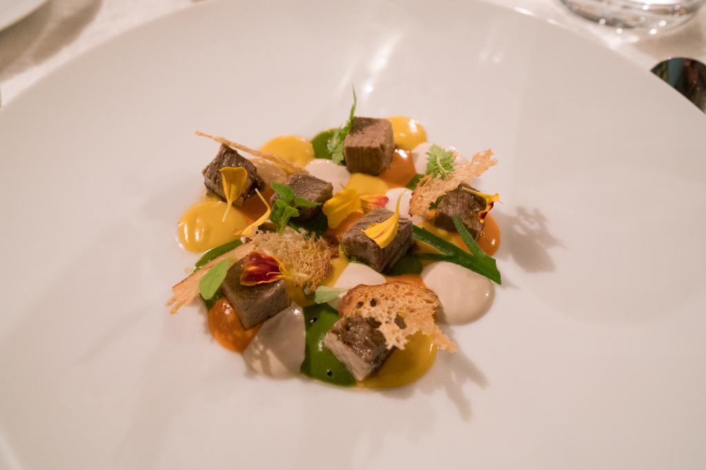 lingua, La Madernassa, Chef Michelangelo Mammoliti, Guarente, Cuneo, Piemonte