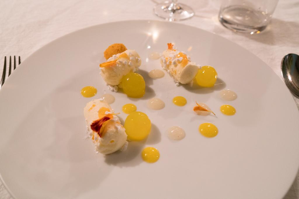 raggio di sole, La Madernassa, Chef Michelangelo Mammoliti, Guarente, Cuneo, Piemonte