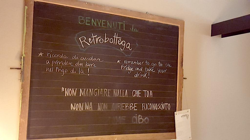 lavagna, Retrobottega, chef Alessandro Miocchi, Giuseppe Lo Iudice, Roma