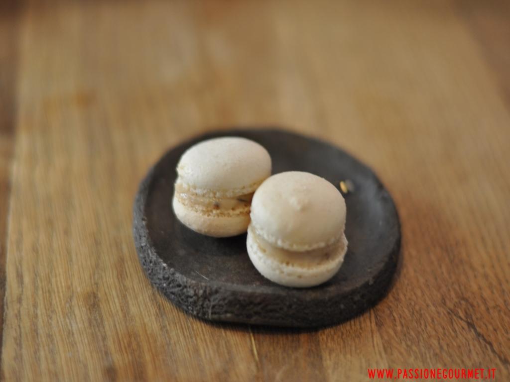 macaron alle acciughe, 28 Posti, chef Marco Ambrosino, Milano
