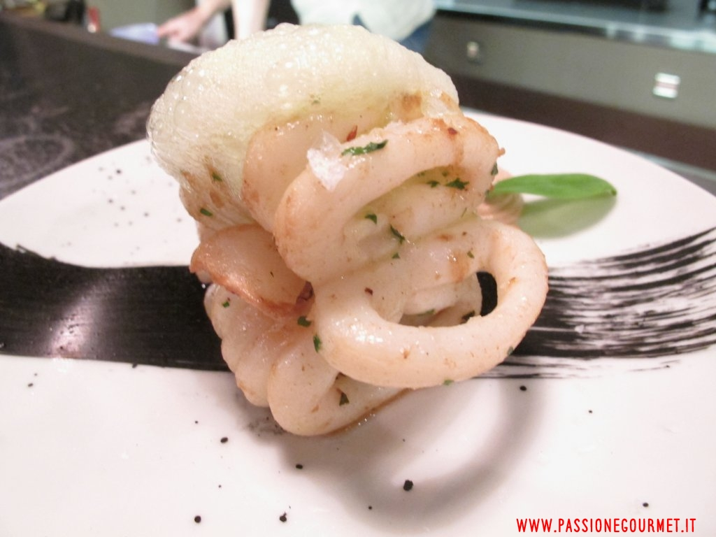 calamaro, Albufera, Chef Mateus Avila Lobo Coelho, Milano