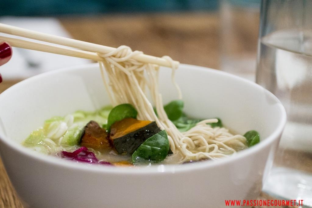 noodles vegetariani, Casa Ramen, Milano
