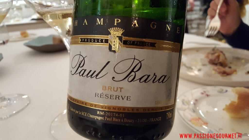 Champagne Paul Bara, Ristorante Pascucci al Porticciolo, fiumicino, Roma