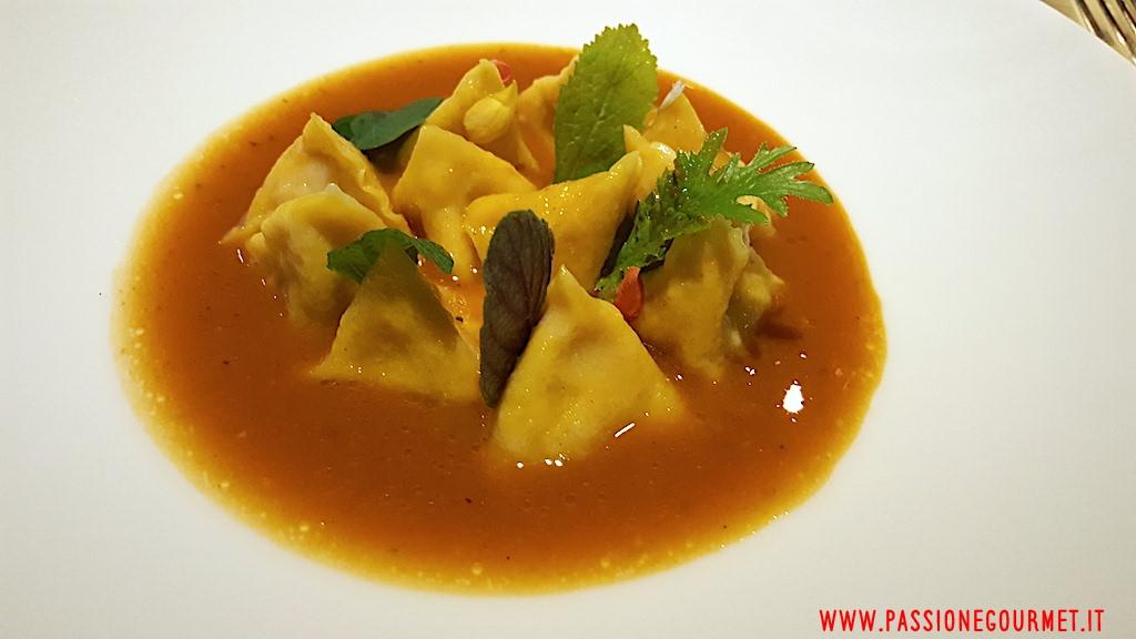 ravioli, Tordomatto, Chef Adriano Baldassarre, Roma