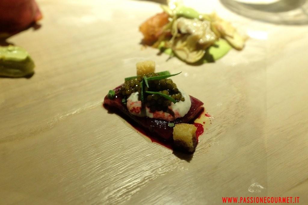 Le Calandre: Nudo e crudo di carne e di pesce 2