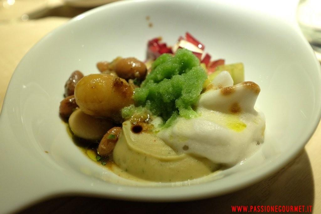 Le Calandre: Fagioli e banana