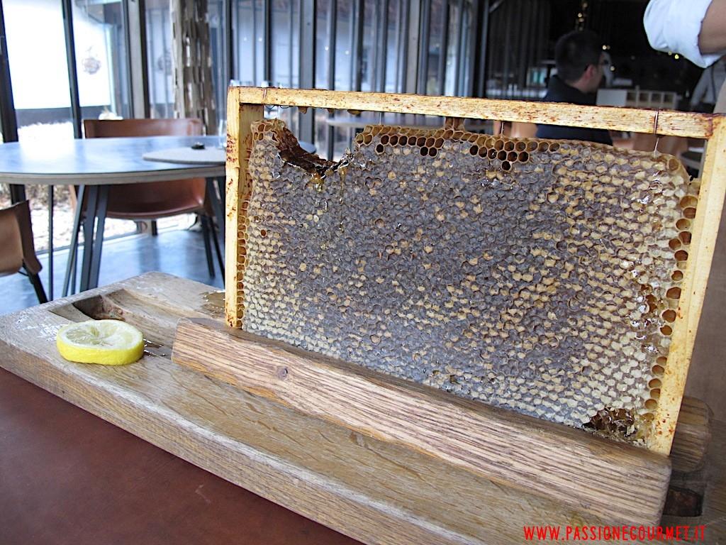 La Grenouillere: Favo con miele 1