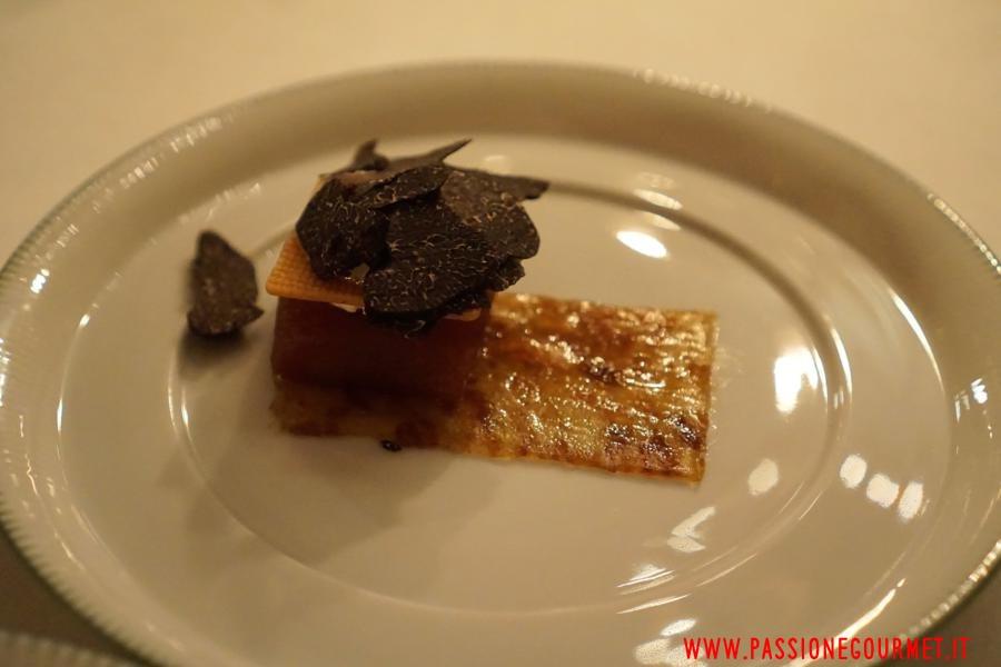 Clarence: Mela, tartufo e caramello
