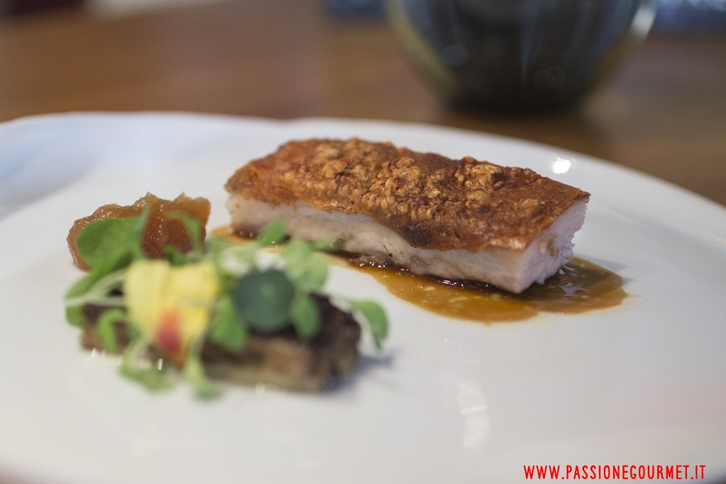 pancia di maiale, Hedone, Londra, Chef Mikael Jonsson