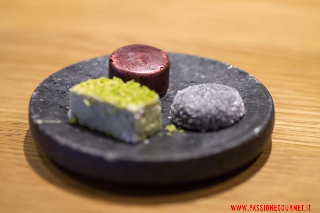 petit fours, Hedone, Londra, Chef Mikael Jonsson