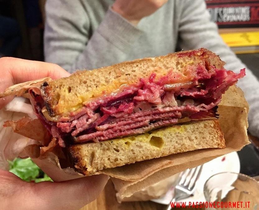 Reuben sandwich, parigi, Frenchie to go